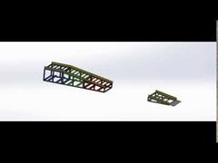 移動式碼頭-模擬拆解