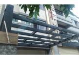中亞鐵工廠 Tekla Structures 3D  遮雨棚 雨遮  玻璃雨遮 鋼構工程