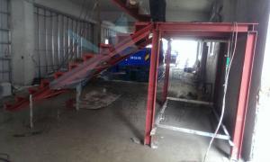 中亞鐵工廠 Tekla Structures 3D 鋼骨梯